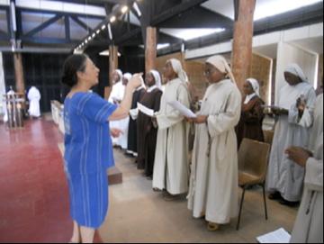 Session des chantres d'Afrique de l'Ouest au Monastère de Bouaké
