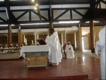 Rencontre des Maîtres et Maîtresses des novices d'Afrique de l'Ouest avec le P. Abbé Visiteur Théodore